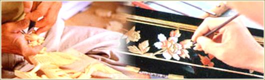 お仏壇の製造工程