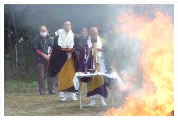 2009年3月国分寺 仏壇供養祭