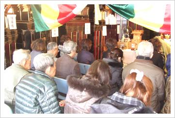 2010年3月供養会の様子