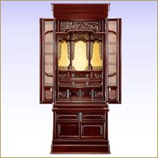 唐木仏壇 18幅 50号